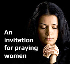An invitation for praying women
